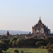 Circular train trip from Yangon to Bagan, Oct. 2014