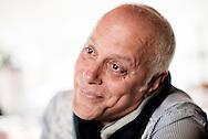 Salerno, Italia - 28 maggio 2013. Matteo Schiavone, cantante ed agente immobiliare ritratto nella sua casa a Salerno. Matteo aveva un fratello gemello di nome Luciano con il quale aveva formato il duetto Lyric Brothers. Luciano &egrave; mancato un anno fa a causa di una grave malattia.<br /> Ph. Roberto Salomone Ag. Controluce<br /> ITALY - Matteo Schiavone portrayed in his house in Salerno on May 28, 2013. Matteo had a twin brother, Luciano, and with him he founded the Lyric Brothers. Luciano passed away last year.