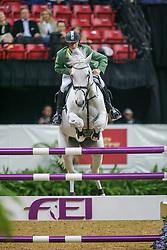 Ehning Marcus, GER, Gitania<br /> World Cup Final Jumping - Las Vegas 2005<br /> © Hippo Foto - Dirk Caremans