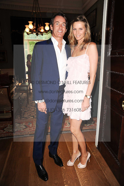 TIM & MALIN JEFFERIES at a party to celebrate the 250th anniversary of the Colnaghi Gallery held at Spencer House, London on 1st July 2010.