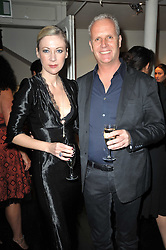 TIGER SAVAGE and WILL KING at The Special Yoga Centre's annual art auction held at the 20th Century Theatre, 291 Westbourne Grove, London W11 on 16th May 2011.