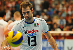 18.09.2011, Stadthalle, Wien, AUT, CEV, Europaeische Volleyball Meisterschaft 2011, Finale, Italien vs Serbien, im Bild Dragan Travica, (ITA, #13, Setter) // during the european Volleyball Championship Final Italy vs Serbia, at Stadthalle, Vienna, 2011-09-18, EXPA Pictures © 2011, PhotoCredit: EXPA/ M. Gruber