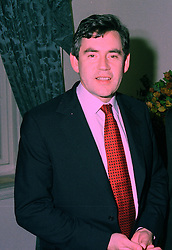 THE CHANCELLOR OF THE EXCHEQUER MR GORDON BROWN MP,  at a reception in London on 4th November 1997.MCX 72 MOLO