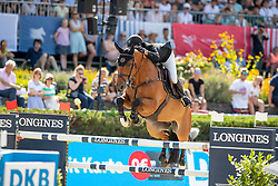 VAN DER VLEUTEN, Maikel (NED), Beauville Z<br /> Berlin - Global Jumping Berlin 2019<br /> CSI5* - LONGINES GLOBAL CHAMPIONS TOUR Grand Prix of Berlin<br /> presented by TENNOR<br /> Wertungsprüfung zur Longines Global Champions Tour 2019 <br /> Springprüfung mit Stechen, international<br /> 27. Juli 2019<br /> © www.sportfotos-lafrentz.de/Stefan Lafrentz
