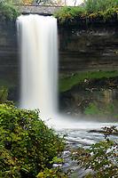 Beautiful Minnehaha Falls in Minneapolis, Minnesota.