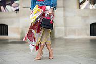 Tina Leung at Schiaparelli SS2015 - detail