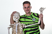 Forest Green Rovers Aaron Collins(10) during the official team photocall for Forest Green Rovers at the New Lawn, Forest Green, United Kingdom on 29 July 2019.
