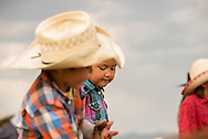Rocky Boy Rodeo-kids-Indians-brother and sisiter-siblings-Rocky Boy Reservation-Montana