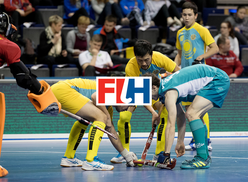 BERLIN - Indoor Hockey World Cup<br /> Men: Australia - Kazakhstan<br /> foto: <br /> WORLDSPORTPICS COPYRIGHT FRANK UIJLENBROEK