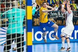 Groselj Matic of RK Celje Pivovarna Lasko during handball match between RK Celje Pivovarna Lasko (SLO) and Paris Saint-Germain HB (FRA) in 11th Round of EHF Champions League 2019/20, on 9 February, 2020 in Arena Zlatorog, Celje, Slovenia. Photo Grega Valancic / Sportida