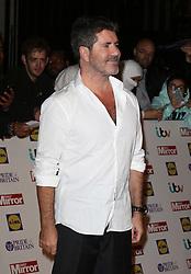Simon Cowell, Pride of Britain Awards, Grosvenor House Hotel, London UK. 28 September, Photo by Richard Goldschmidt /LNP © London News Pictures