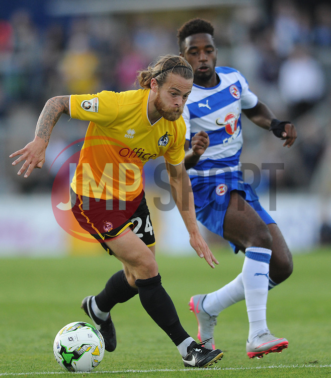 Stuart Sinclair of Bristol Rovers - Mandatory by-line: Dougie Allward/JMP - 21/07/2015 - SPORT - FOOTBALL - Bristol,England - Memorial Stadium - Bristol Rovers v Reading - Pre-Season Friendly