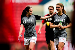 Olivia Chance of Bristol City and Vita Van Der Linden of Bristol City  - Mandatory by-line: Ryan Hiscott/JMP - 07/09/2019 - FOOTBALL - Ashton Gate - Bristol, England - Bristol City Women v Brighton and Hove Albion Women - FA Women's Super League
