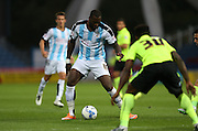 Huddersfield Town striker Ishmael Miller during the Sky Bet Championship match between Huddersfield Town and Brighton and Hove Albion at the John Smiths Stadium, Huddersfield, England on 18 August 2015.