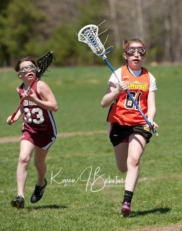 Lakes Region Lacrosse U15 girls versus Concord May 1, 2011.Lakes Region Lacrosse U15 girls versus Concord Crush May 1, 2011.