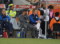 A Dejected Manager Fabio Capello<br /> England World Cup 2010<br /> Germany V England (4-1) 27/06/10 Round Of 16<br /> FIFA World Cup 2010<br /> Photo Robin Parker Fotosports International