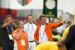 Dubbeldam Jeroen, (NED), Schroder gerco, (NED), Ehrens Rob, (NED)<br /> Individual Final Competition<br /> FEI European Championships - Aachen 2015<br /> © Hippo Foto - Dirk Caremans<br /> 23/08/15