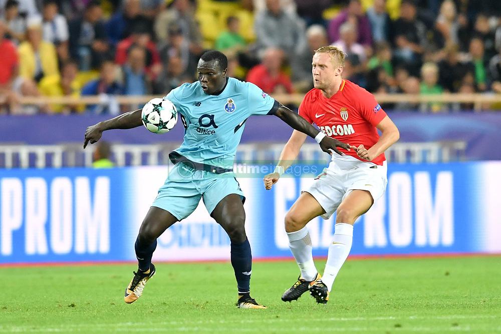 September 26, 2017 - Monaco, France - 09 Vincent Aboubakar (por) - 25 KAMIL GLIK  (Credit Image: © Panoramic via ZUMA Press)