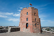 The Upper Castle stands on a small hill in Vilnius, Lithuania (6 July 2014). © Rudolf Abraham.