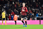 Sam Surridge (44) of AFC Bouremouth during the The FA Cup match between Bournemouth and Arsenal at the Vitality Stadium, Bournemouth, England on 27 January 2020.