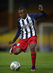 """West Bromwich Albion's Kyle Edwards during the pre-season friendly match at Vale Park, Stoke. PRESS ASSOCIATION Photo. Picture date: Tuesday August 1, 2017. See PA story SOCCER Port Vale. Photo credit should read: Nick Potts/PA Wire. RESTRICTIONS: EDITORIAL USE ONLY No use with unauthorised audio, video, data, fixture lists, club/league logos or """"live"""" services. Online in-match use limited to 75 images, no video emulation. No use in betting, games or single club/league/player publications."""