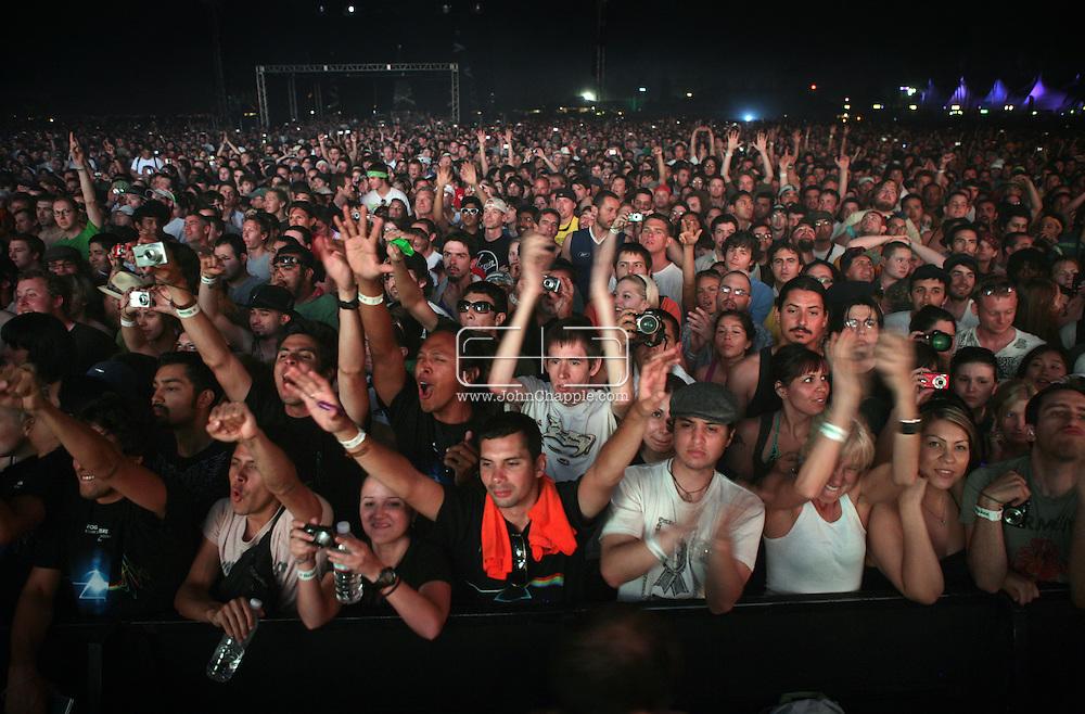 27th April 2008, Coachella, California. The Coachella Music festival. PHOTO © JOHN CHAPPLE / REBEL IMAGES