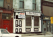 Old Dublin Amature Photos May 1983 WITH, Kavanagh's Pub, Dorset St, Shop Front, Aston Quay, Halfpenny Bridge, Merchants Arch, The Gallery,