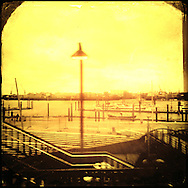 Hamburg, Hafen, Puerto, Port, Print, Paisaje
