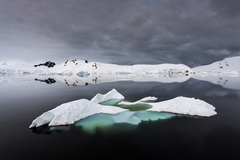 Eisberge in der Antarktis
