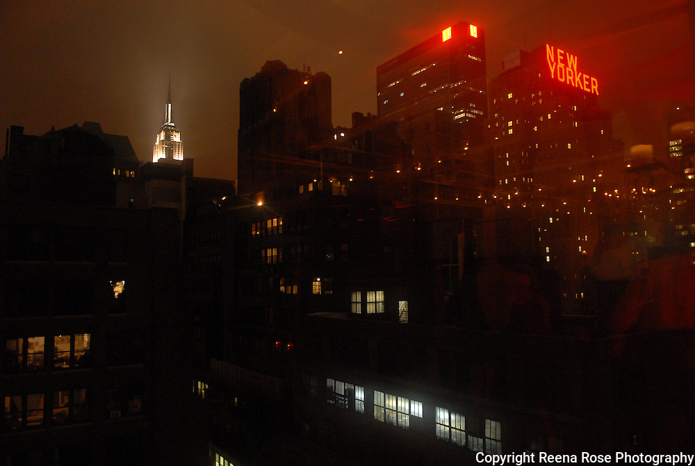 New Yorker and the Empire State Building<br /> New York City, NY