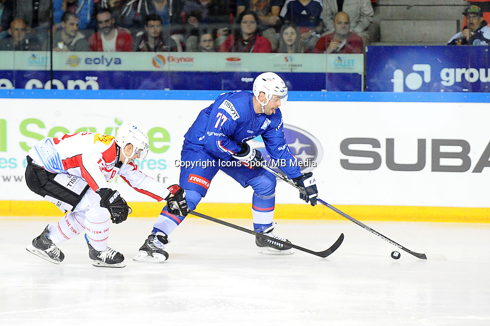 Sacha TREILLE - 24.04.2015 - France / Suisse - Match Amical -Grenoble<br />
