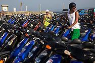 28/Julio/2009 Formentera<br /> Motos de alquiler en la playa de Illetes<br /> <br /> &copy; JOAN COSTA