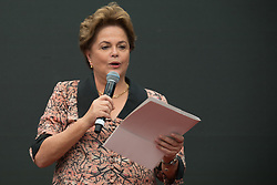 November 19, 2018 - Buenos Aires, Argentina - Brazil's former President Dilma Rousseff during a meeting of the World Forum of Critical Thought in Buenos Aires, Argentina, Monday, November .19, 2018.  The World Forum of Critical Thought is considered the counter summit of the G-20 that will take place in a few days in Buenos Aires. (Credit Image: © Mario De Fina/NurPhoto via ZUMA Press)
