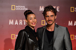 November 8, 2016 - Roma, RM, Italy - Italian actress Beatrice Olla and italian actor Raniero Monaco Di Lapio during Red Carpet of the premier of Mars, the largest production ever made by National Geographic (Credit Image: © Matteo Nardone/Pacific Press via ZUMA Wire)