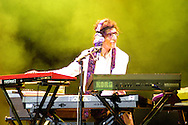 The argentin Rock Star Charly Garcia live in Concert. Madrid, Spain