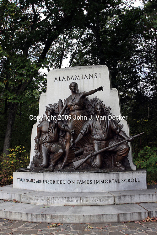 Monument to Alabama's Confederate soldiers, Gettysburg