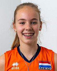 21-12-2018 NED: Photoshoot selection of Orange Young Girls, Arnhem <br /> Orange Young Girls 2018 - 2019 / Marit Zander #15