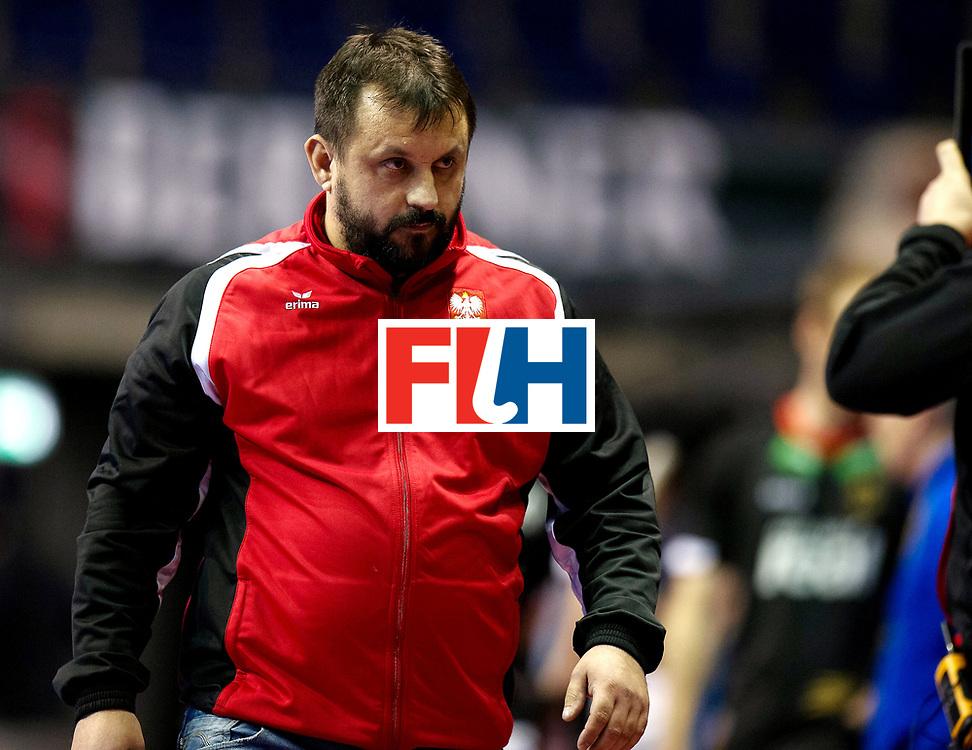 BERLIN - Indoor Hockey World Cup<br /> Men: Poland - Germany<br /> foto: SNIEZEK Karol.<br /> WORLDSPORTPICS COPYRIGHT FRANK UIJLENBROEK