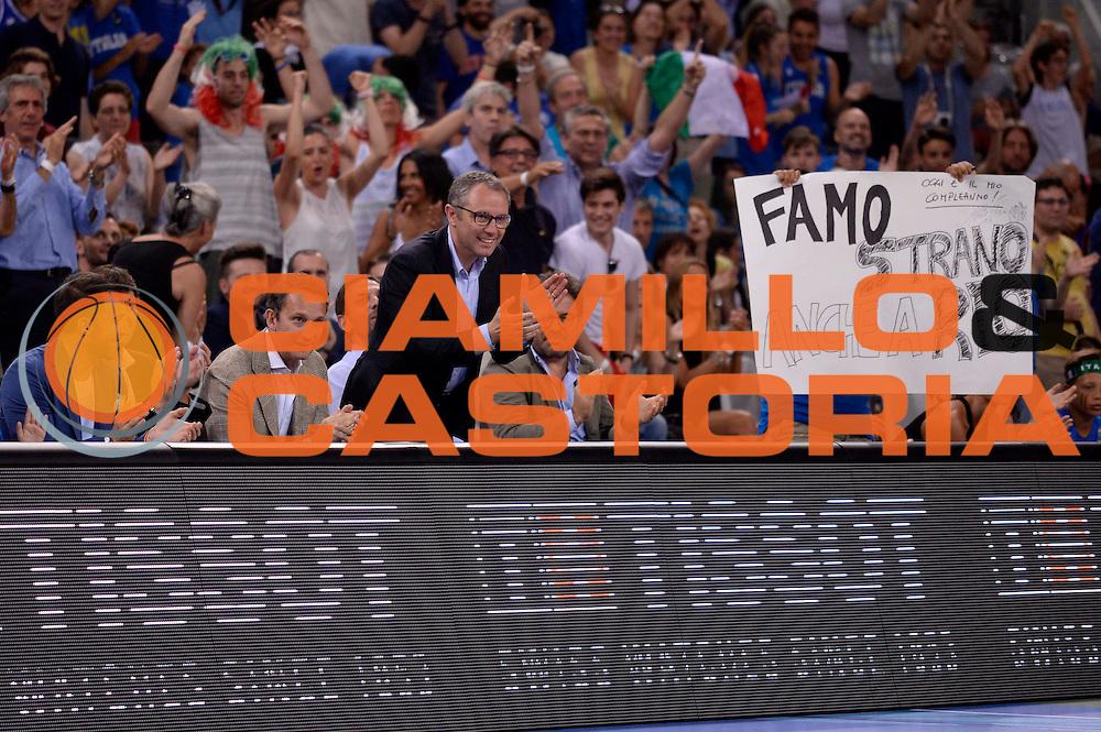 DESCRIZIONE: Torino FIBA Olympic Qualifying Tournament Italia - Croazia<br /> GIOCATORE: stefano domenicali<br /> CATEGORIA: Nazionale Italiana Italia Maschile Senior<br /> GARA: FIBA Olympic Qualifying Tournament Italia - Croazia<br /> DATA: 05/07/2016<br /> AUTORE: Agenzia Ciamillo-Castoria