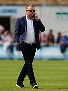 FODBOLD: Direktør Janus Kyhl (FC Helsingør) under kampen i ALKA Superligaen mellem FC Helsingør og FC Midtjylland den 6. august 2017 på Helsingør Stadion. Foto: Claus Birch