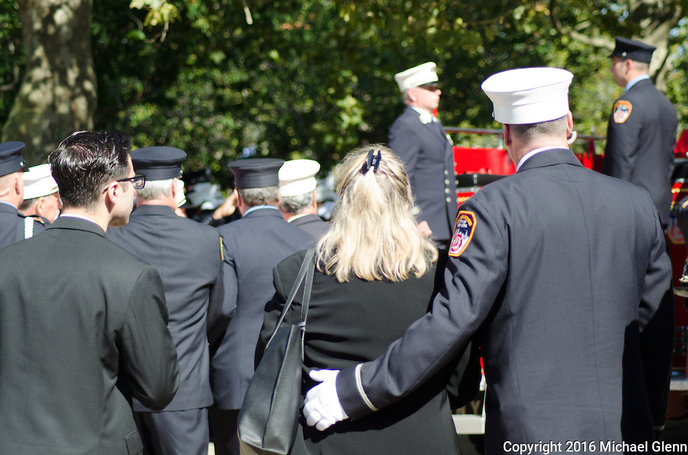 Captain Vincent Ungaro died after a long fight with World Trade Center-related leukemia on October 1, 2016.
