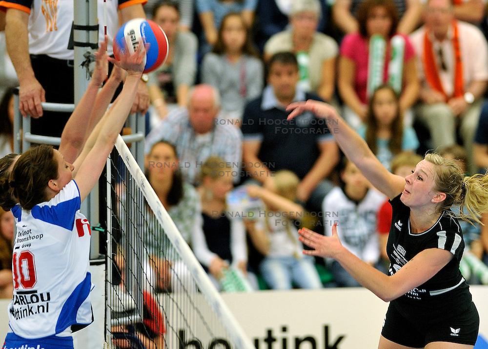 01-05-2011 VOLLEYBAL: PLAYOFF FINALE HEUTINK POLLUX - VC WEERT: OLDENZAAL<br /> Desiree Nouwen<br /> &copy;2011- FotoHoogendoorn.nl