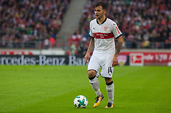 September 16, 2017 - Stuttgart, Germany - Stuttgarts Anastasios Donis initiates a counter / Bundesliga match VfB Stuttgart vs VfL Wolfsburg, September 16, 2017. (Credit Image: © Bartek Langer/NurPhoto via ZUMA Press)