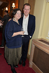FAY MASCHLER and TOM PARKER BOWLES at a lunch hosted by Fortnum & Mason, Piccadilly, London on 29th January 2015 in honour of Marco Pierre White and the publication of White Heat 25.
