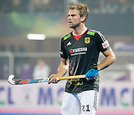 BHUBANESWAR  (INDIA)  - HERO Champions Trophy Hockey men. Day 1. Germany vs India. Moritz Fürste of Germany. PHOTO  KOEN SUYK