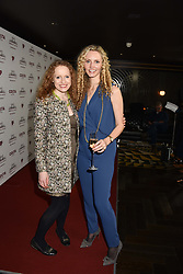 28 January 2020 - Kate Williams and Prof.Suzannah Lipscomb at the Costa Book Awards 2019 held at Quaglino's, 16 Bury Street, London.<br /> <br /> Photo by Dominic O'Neill/Desmond O'Neill Features Ltd.  +44(0)1306 731608  www.donfeatures.com