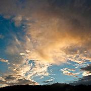 Typoon sunset, Takanua Village, Ming Shen, Namasiya Township, Kaoshiung County, Taiwan