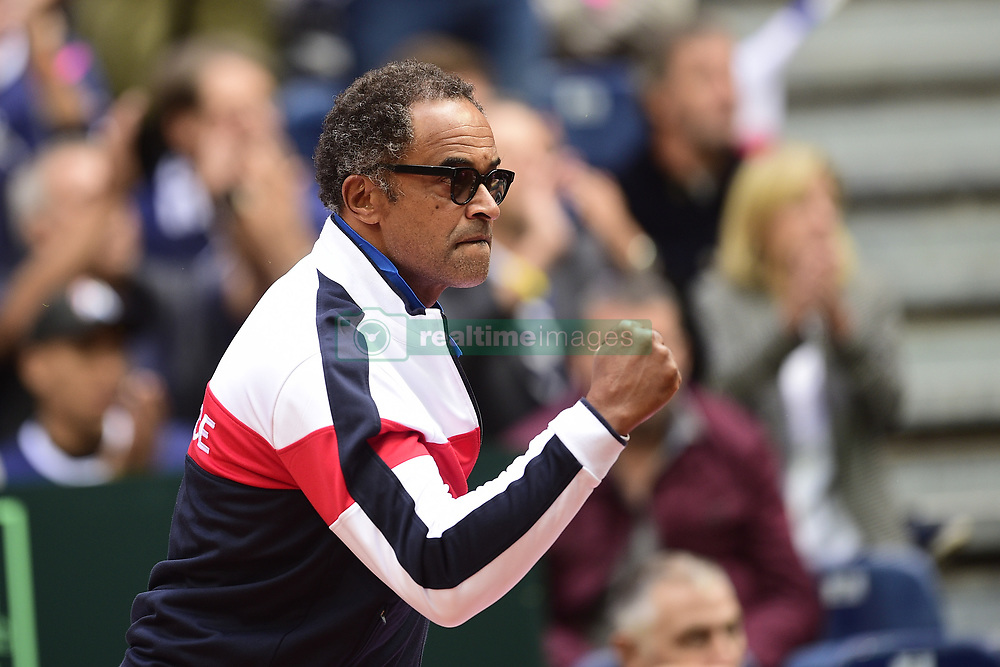 September 15, 2017 - Lille, France, France - Yannick Noah - capitaine  (Credit Image: © Panoramic via ZUMA Press)