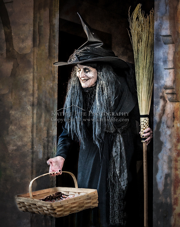 """Witch at """"Ghost Encounters"""" event at Canterbury Shaker Village, Halloween. All Content is Copyright of Kathie Fife Photography. Downloading, copying and using images without permission is a violation of Copyright."""