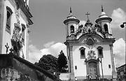 Igreja Nossa Senhora do Carmo Brazil.<br /> <br /> Ronald Lewcock Collection.<br />  Portuguese colonial architecture.<br /> Ronald Lewcock Collection.
